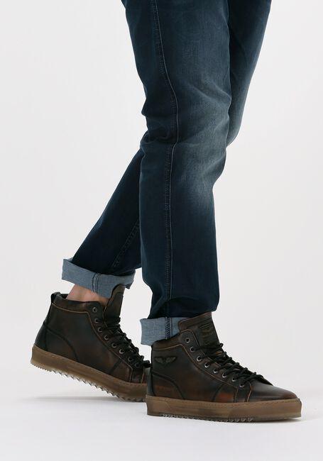 Bruine PME Hoge sneaker TITON  - large