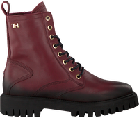 Rode TOMMY HILFIGER Veterboots SHADED TH BOOTIE  - medium