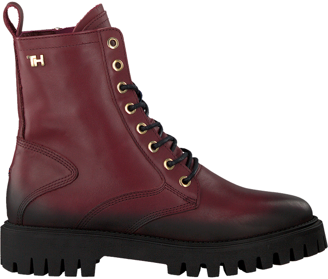Rode TOMMY HILFIGER Veterboots SHADED TH BOOTIE  - large