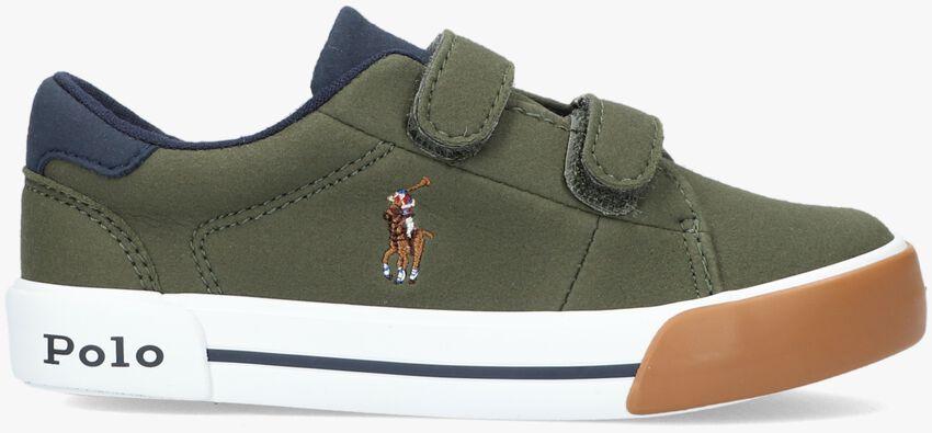Groene POLO RALPH LAUREN Lage sneakers GRAFTYN EZ  - larger