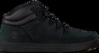 Zwarte TIMBERLAND Hoge sneaker DAVIS SQUARE EUROSPRINT KIDS - medium