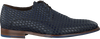 Blauwe FLORIS VAN BOMMEL Nette schoenen 18007  - small