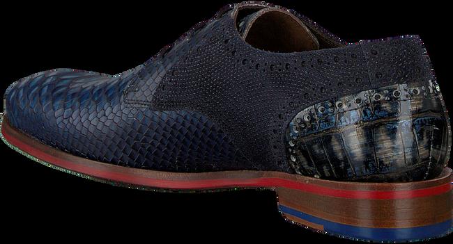 Blauwe FLORIS VAN BOMMEL Nette schoenen 18106  - large