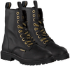 Zwarte VINGINO Veterboots EVA HIGH  - small
