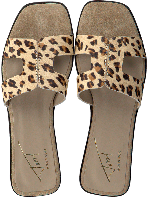 Beige TORAL Slippers 11074  - large