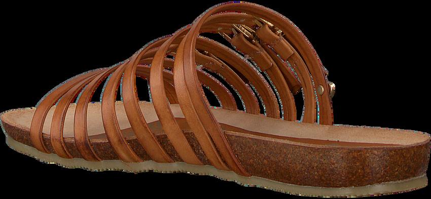 Bruine FRED DE LA BRETONIERE Slippers 170010139 FRS0385  - larger