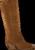 Cognac BRONX Lange laarzen LOW-KOLE 14186  - small