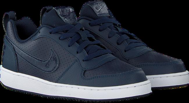 Blauwe NIKE Sneakers COURT BOROUGH LOW (KIDS)  - large