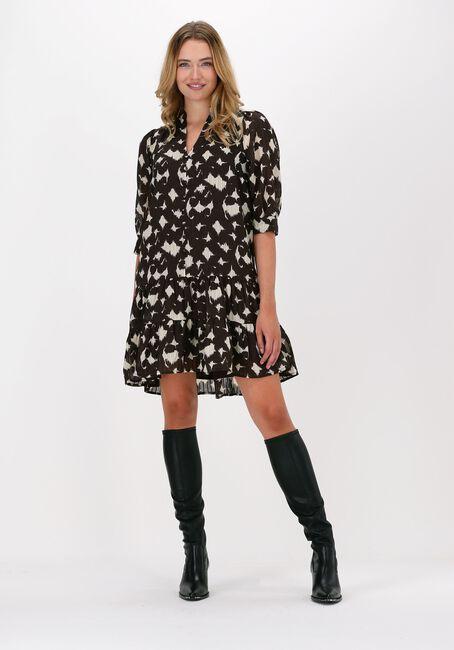 Bruine CO'COUTURE Mini jurk ALYSSA BUTTON DRESS  - large