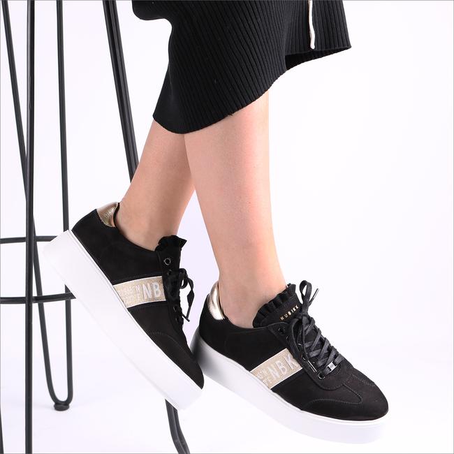 Zwarte NUBIKK Sneakers ELISE GPS  - large