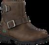 Taupe BUNNIES JR Biker boots TINA TROTS - small