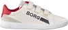 Witte BJORN BORG Sneakers T330 LOW NAP VELCRO - small