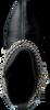 Zwarte NIKKIE Enkellaarsjes N9321  - small