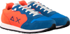 Blauwe SUN68 Lage sneakers TOM FLUO  - small