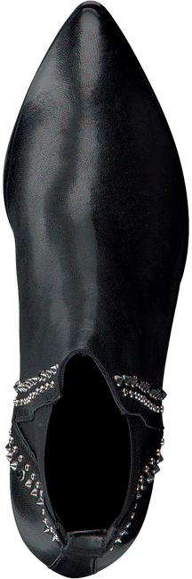 Zwarte JANET & JANET Enkellaarsjes 42307 - large
