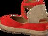 Rode UNISA Espadrilles CAUDE  - small