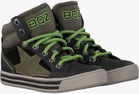 Zwarte BRAQEEZ Hoge sneaker DYLAN DAY  - medium