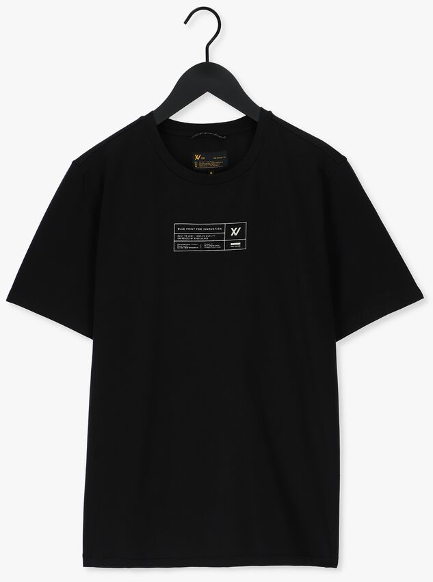 Zwarte PME LEGEND T-shirt SHORT SLEEVE R-NECK STRETCH JE - larger