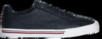Blauwe TOMMY HILFIGER Lage sneakers CORE CORPORATE LEATHER SNEAKER - medium