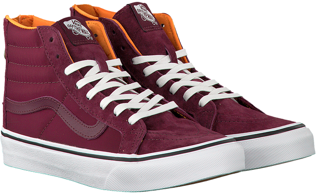 Rode VANS Sneakers SK8-HI SLIM ZIP  - large