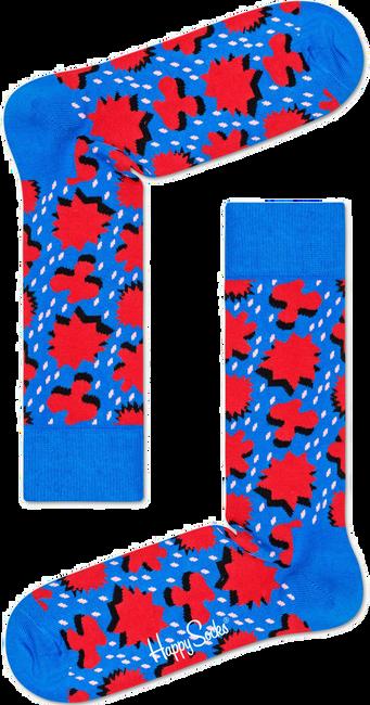 Blauwe HAPPY SOCKS Sokken COMIC RELIEF - large