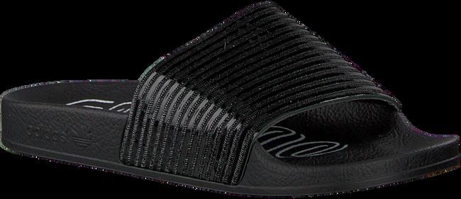 Zwarte ADIDAS Slippers ADILETTE DAMES - large