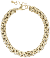 Gouden NOTRE-V Armband ARMBAND RONDE SCHAKEL  - medium