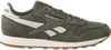 Groene REEBOK Sneakers CL LEATHER TL MEN - small