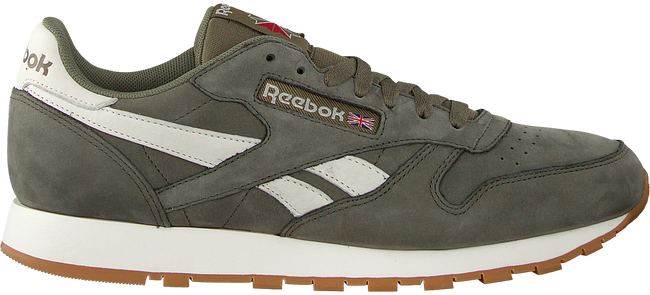 Groene REEBOK Sneakers CL LEATHER TL MEN - large