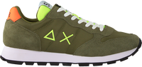 Groene SUN68 Lage sneakers TOM FLUO MEN - medium