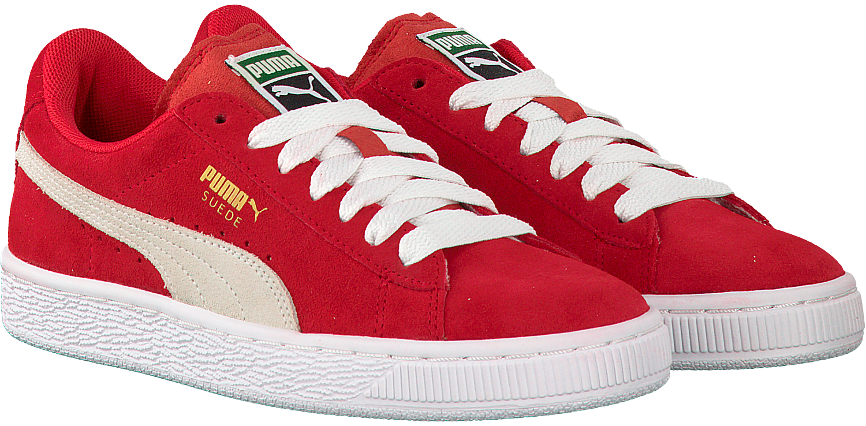 Rode PUMA Sneakers SUEDE JR   Omoda