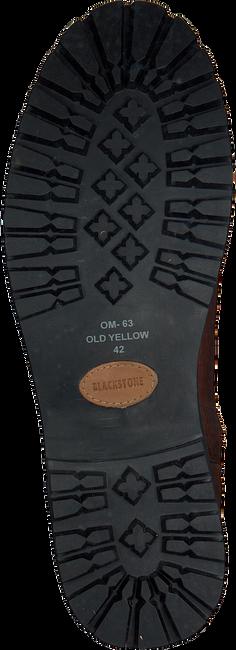 Cognac BLACKSTONE Enkelboots OM63  - large