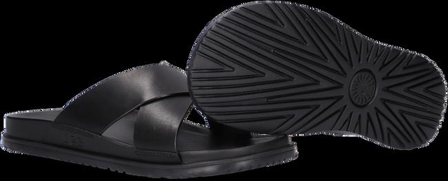 Zwarte UGG Slippers M WAINSCOTT SLIDE  - large
