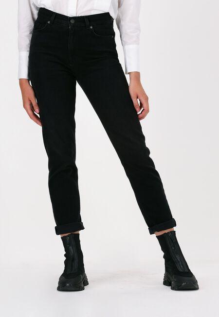 Zwarte SELECTED FEMME Slim fit jeans SLFAMY HW SLIM BEAUTY BLA JEAN  - large