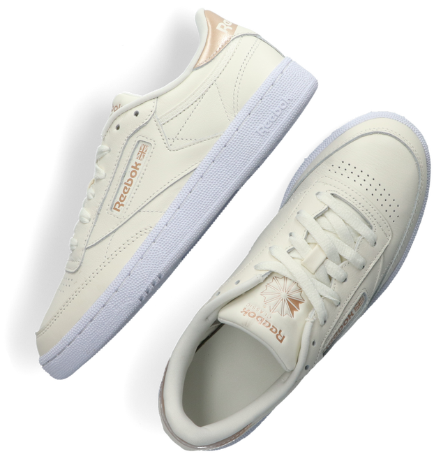 Witte REEBOK Lage sneakers CLUB C 85 WMN  - large