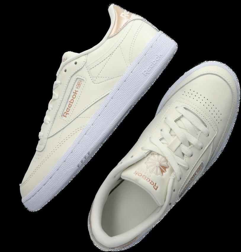 Witte REEBOK Lage sneakers CLUB C 85 WMN  - larger