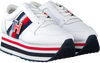 Witte TOMMY HILFIGER Lage sneakers TOMMY CUSTOMIZE FLATFORM  - small