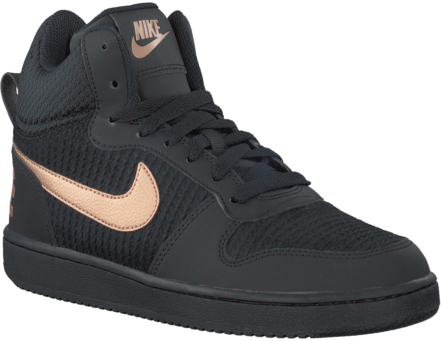 Nike Prem Mid Sneakers Dames Zwarte nl Omoda Court Borough SdCwXqa