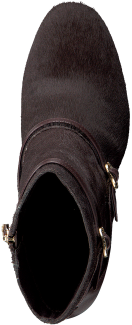 Bruine WHAT FOR Enkellaarsjes THOMAS PONY HAIR  - large