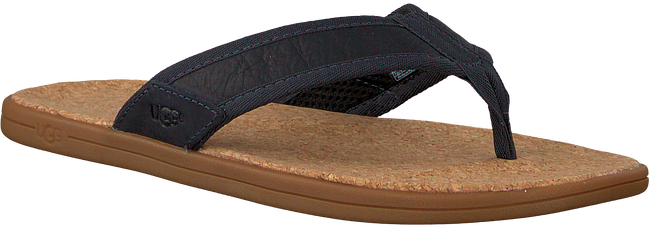 blauwe UGG Slippers SEASIDE FLIP  - large