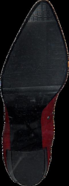 Rode BRONX Enkellaarsjes 33999 - large