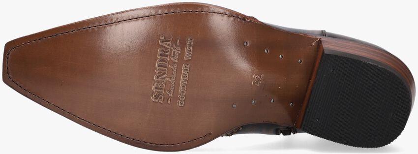 Bruine SENDRA Cowboylaarzen 9918  - larger
