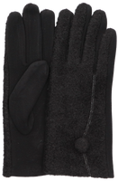 Zwarte Yehwang Handschoenen THE DOT  - medium