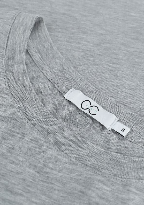 Grijze CC HEART T-shirt BASIC T-SHIRT - larger