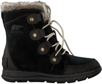 Zwarte SOREL Veterboots EXPLORER JOAN - medium