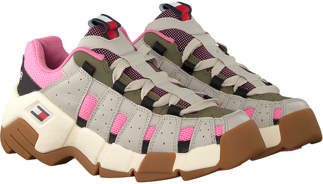Beige TOMMY HILFIGER Lage sneakers CHUNKY HERITAGE WMNS  - large