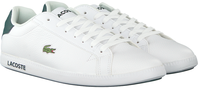 Witte LACOSTE Sneakers GRADUATE LCR3  - large