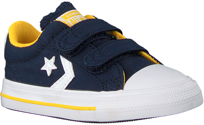 Blauwe CONVERSE Lage sneakers STAR PLAYER 2V OX KIDS  - large