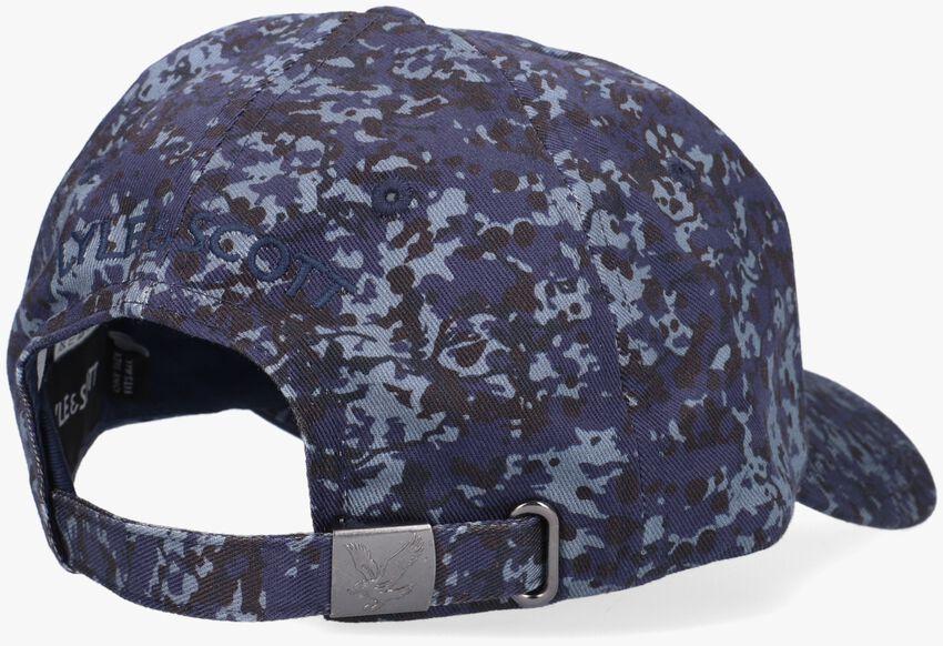 Blauwe LYLE & SCOTT Pet BASEBALL CAP  - larger