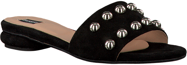 Zwarte ROBERTO D'ANGELO Slippers M607  - large